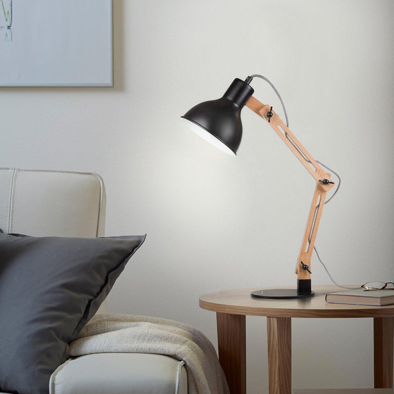 Lampada stile Luxo con struttura in legno e metallo: solo oggi a ...