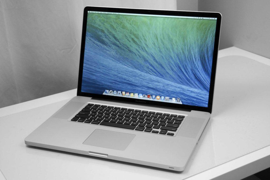 Il vecchio MacBook Pro da 17