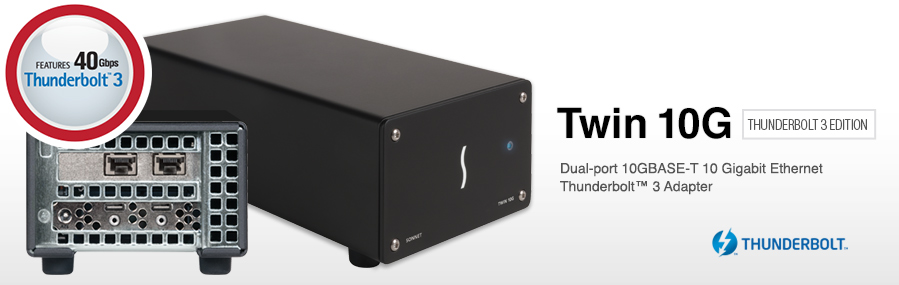 Sonnet, adattatore Dual-Port 10 Gigabit Ethernet (10GbE ...