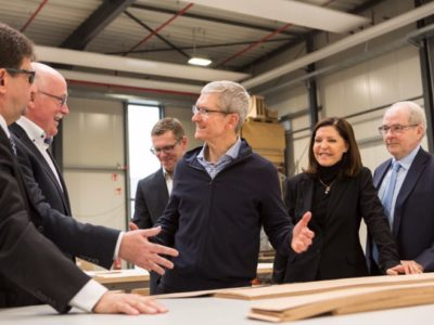 tim cook in germania