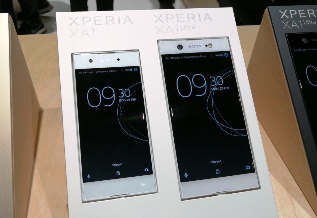 Risultati immagini per Sony XA1 e Ultra, alta qualità fotografica in smartphone di fascia media al MWC17