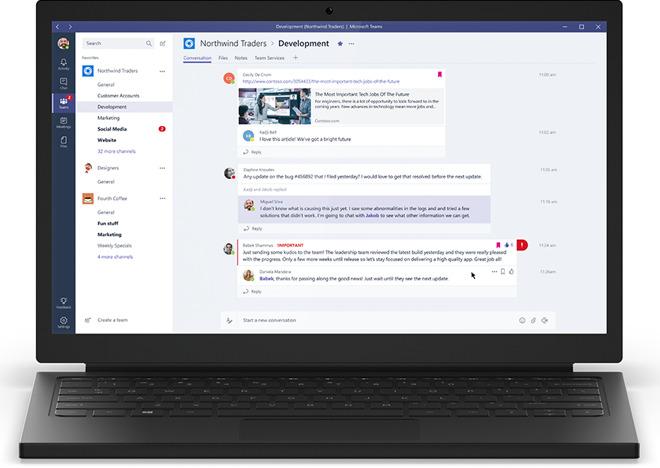 Microsoft Teams La Chat Per Lavorare E Collaborare è Disponibile