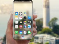 iPhone 8 posseduto da Siri nel nuovo futuristico concept
