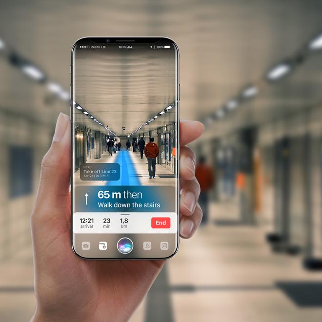 5f146e485 iPhone 8 posseduto da Siri nel nuovo futuristico concept - Macitynet.it