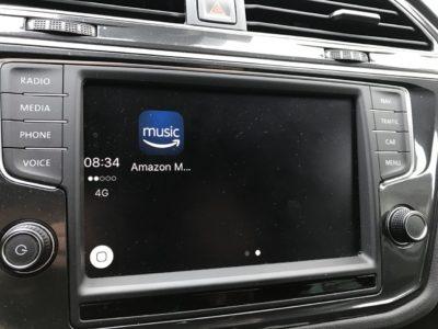 Amazon Music CarPlay