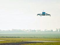 Il video della prima consegna con drone Amazon in USA