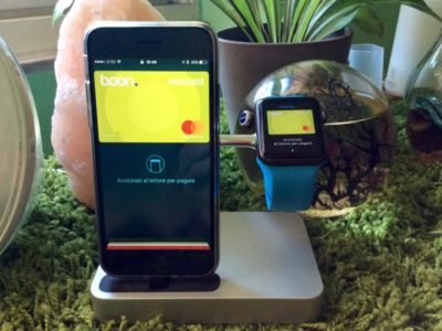 Apple Pay Italia Boon