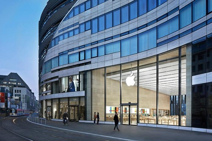 L'Apple Store di Düsseldorf
