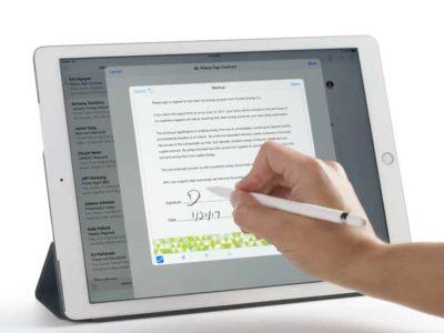 Firma su iPad