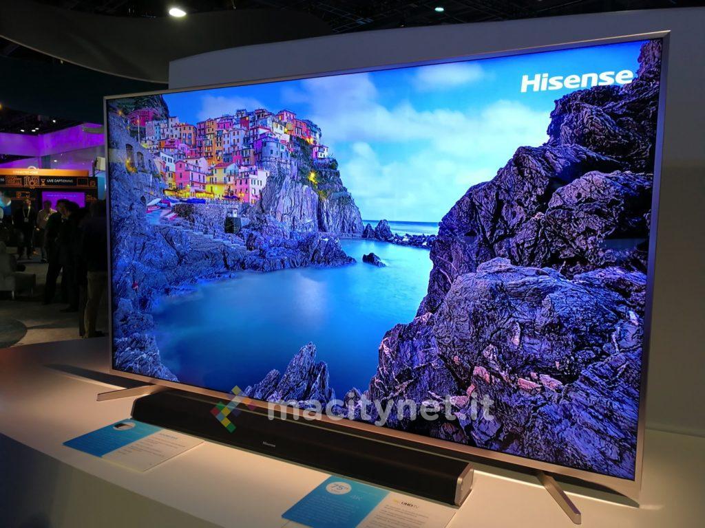 Ecco la linea 2017 di tv hisense con tecnologia hdr for Hisense italia
