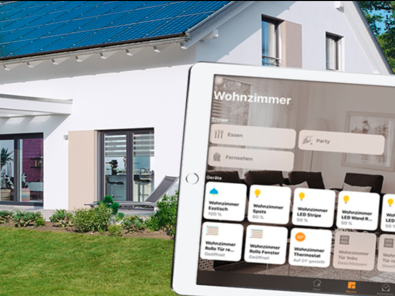 Le case prefabbricate di weberhaus supportano homekit for Costruttore di case virtuali