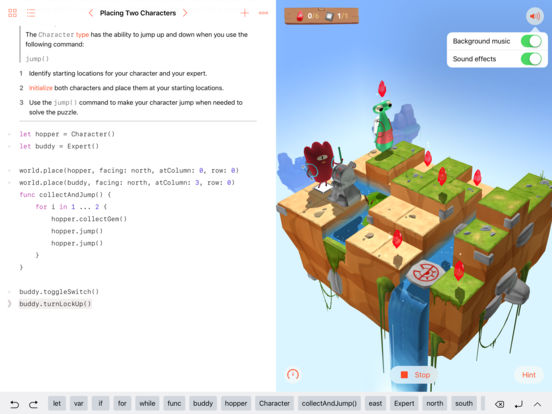 ora del codice cook programmare Swift Playgrounds ipad 4