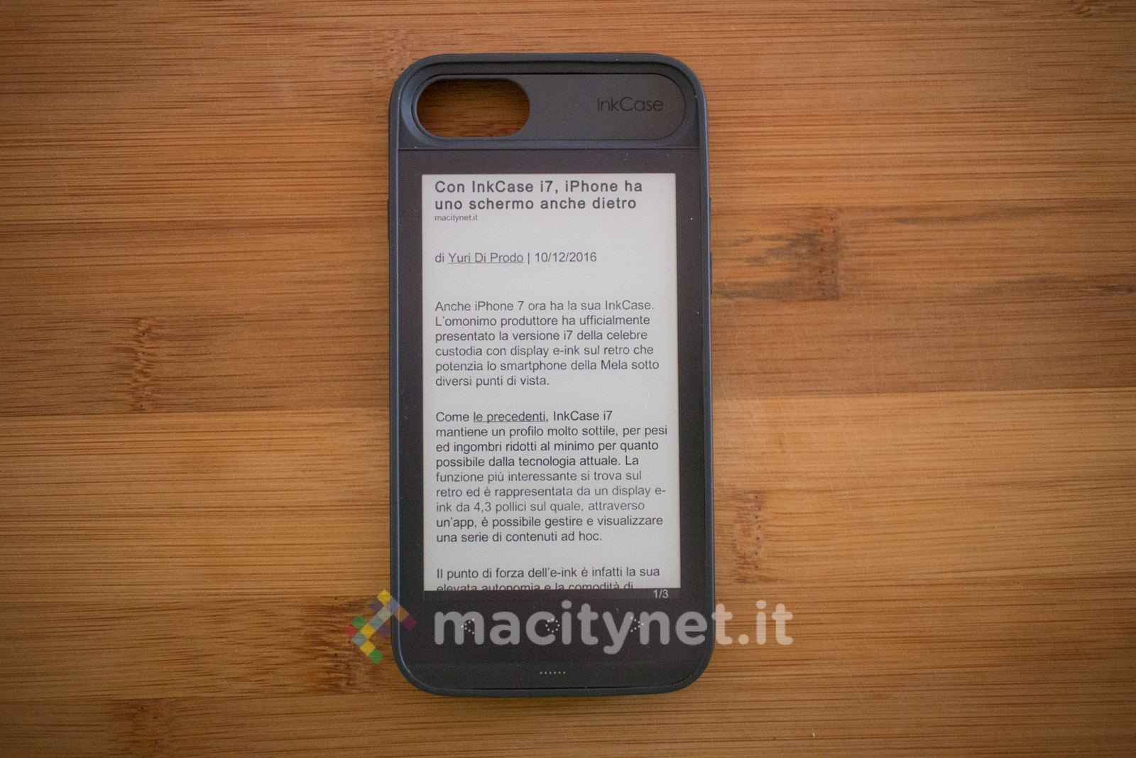 Recensione InkCase i7