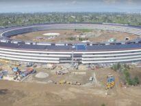 Apple Park prende vita, nel video tour 4K i primi uffici arredati