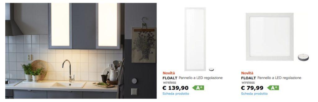 Ikea tr dfri illumina la casa smart con lampade pannelli - Case ikea prefabbricate italia ...