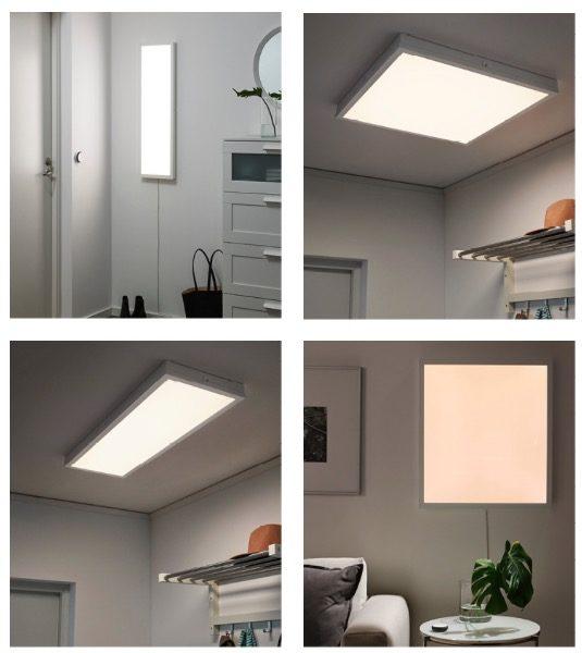 Ikea Trådfri illumina la casa smart con lampade, pannelli e ante LED ...