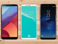 Nuovo concept iPhone 8 immaginato a metà tra LG G6 e Galaxy S8