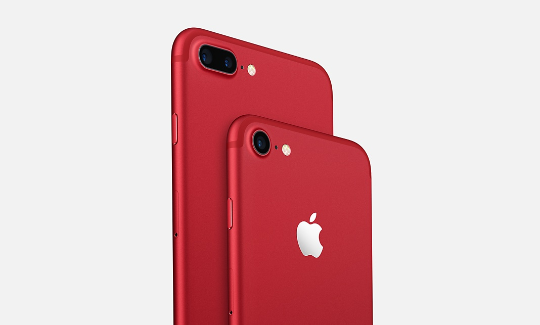 iphone rosso