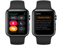 Modalità Spettacolo, Apple Watch è più discreto al cinema con watchOS 3.2
