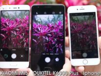 Oukitel K6000 Plus contro Xiaomi Mi5 contro iPhone 7: scontro di fotocamere