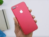 unboxing iPhone 7 rosso