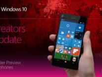 Windows 10 Creators Update per smartphone: confusione e disponibilità limitata