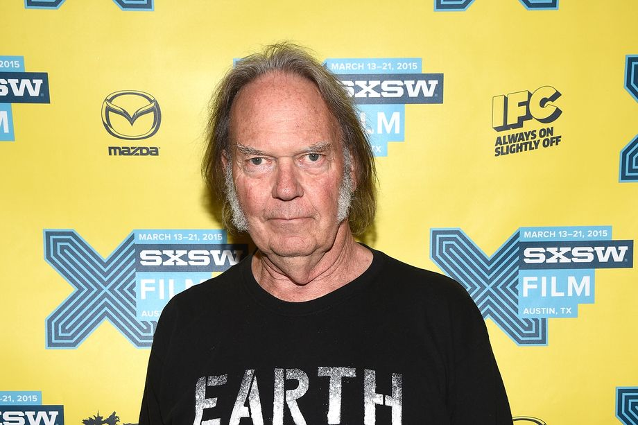 Neil Young - Foto di Michael Buckner/Getty Images
