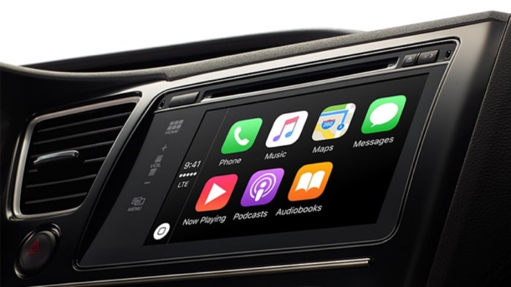 Apple CarPlay 740