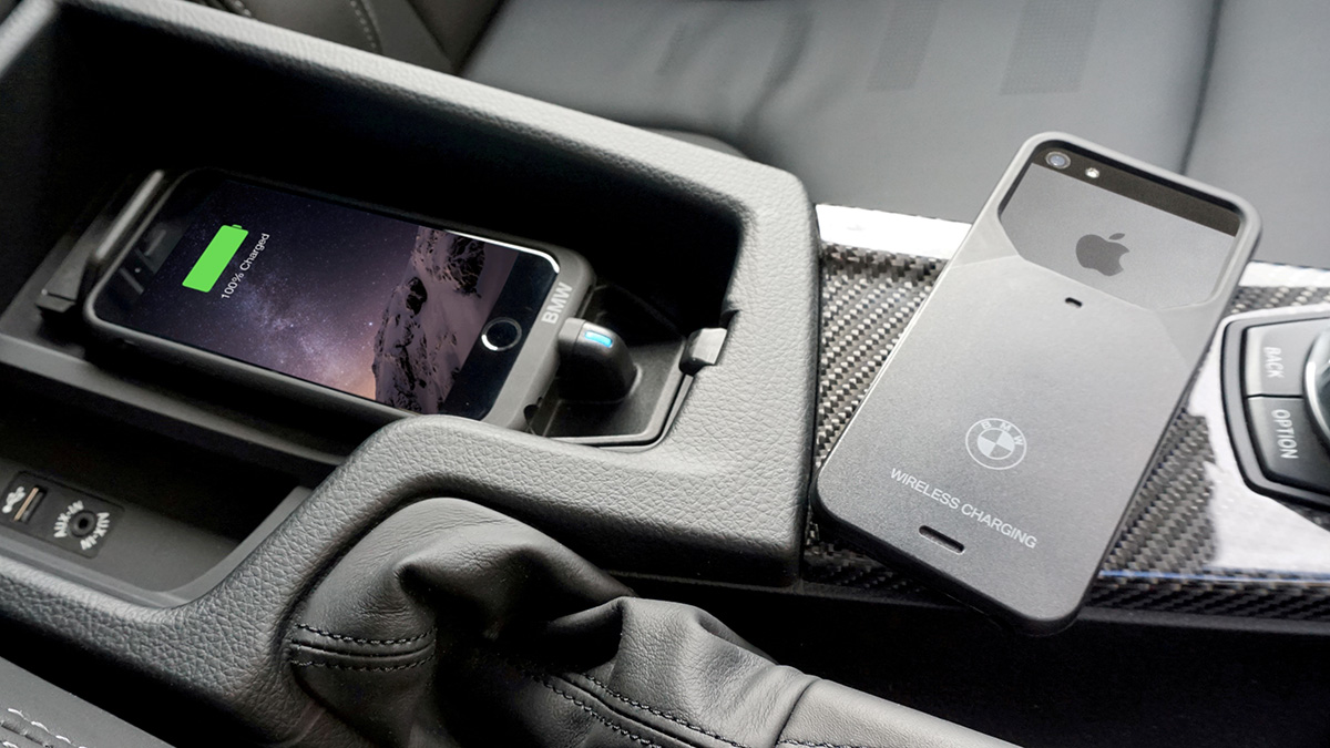 Aircharge Ricarica wireless BMW