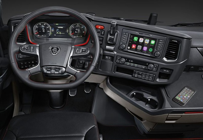 CarPlay camion
