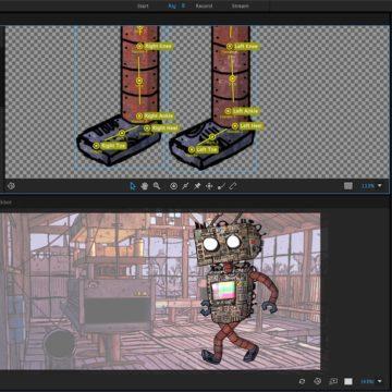 Character Animator - Walk 1