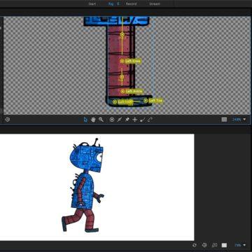Character Animator - Walk 2