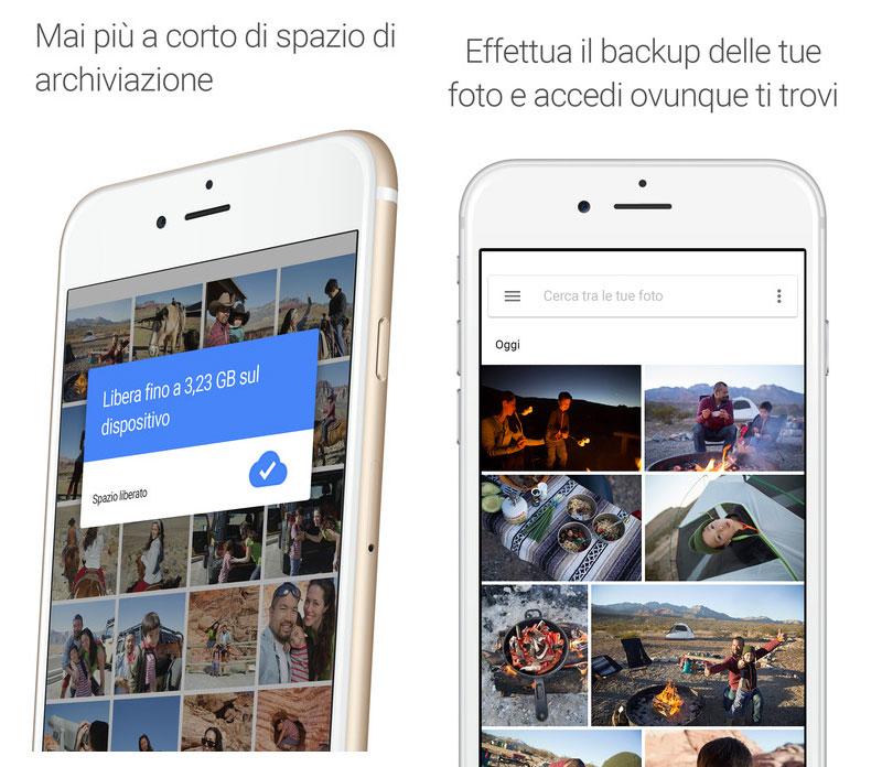 Iphone Carica Foto Alla Massima Risoluzione Su Google Foto