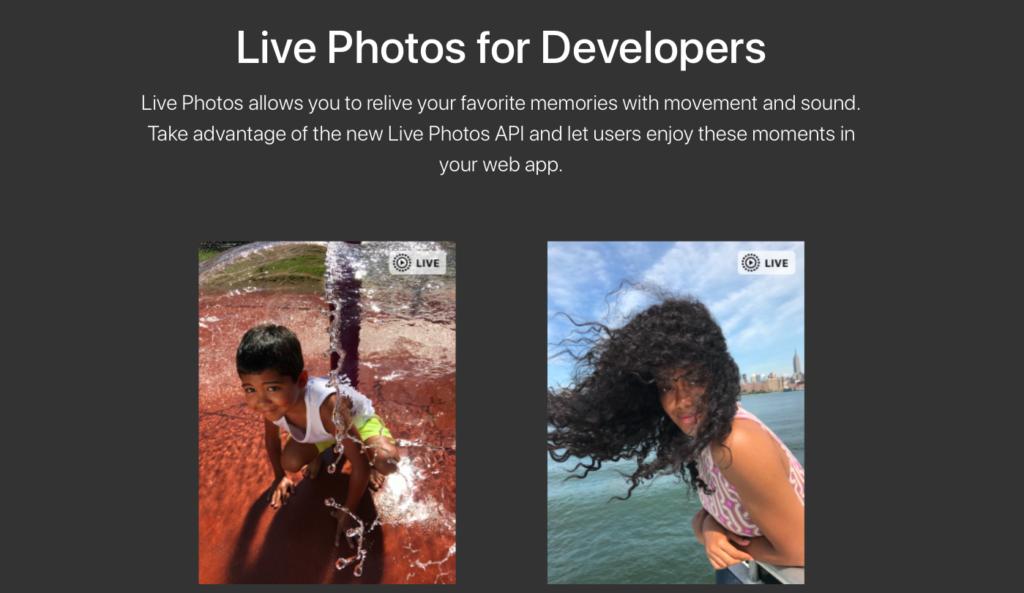 Live Photos Apple