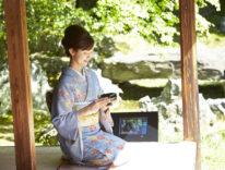 Selfie e foto da maestro nei templi di Kyoto con le fotocamere Panasonic già installate