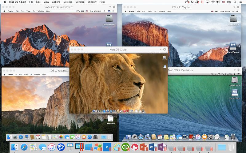 Sfruttando Parallels Desktop è possibile avere a disposizione più macchie virrtuali con varie versioni di macOS