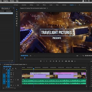 Premiere Pro - Essential Graphics Panel