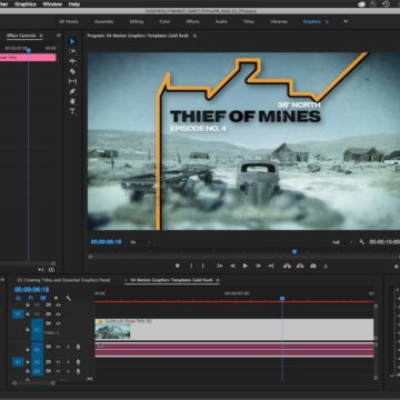 Premiere Pro - Motion Graphics Template