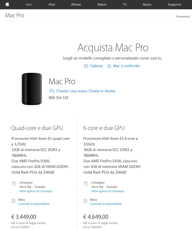 mac pro 2017 refresh in arrivo