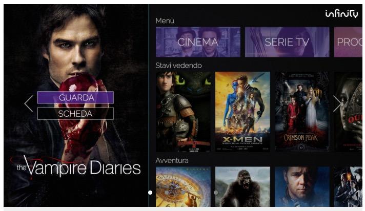 come scaricare app infinity su smart tv philips