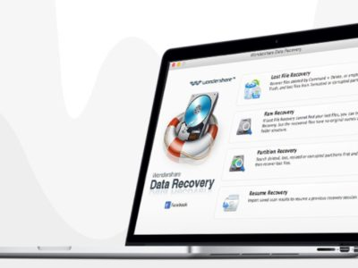 Wondershare Data Recovery per Mac