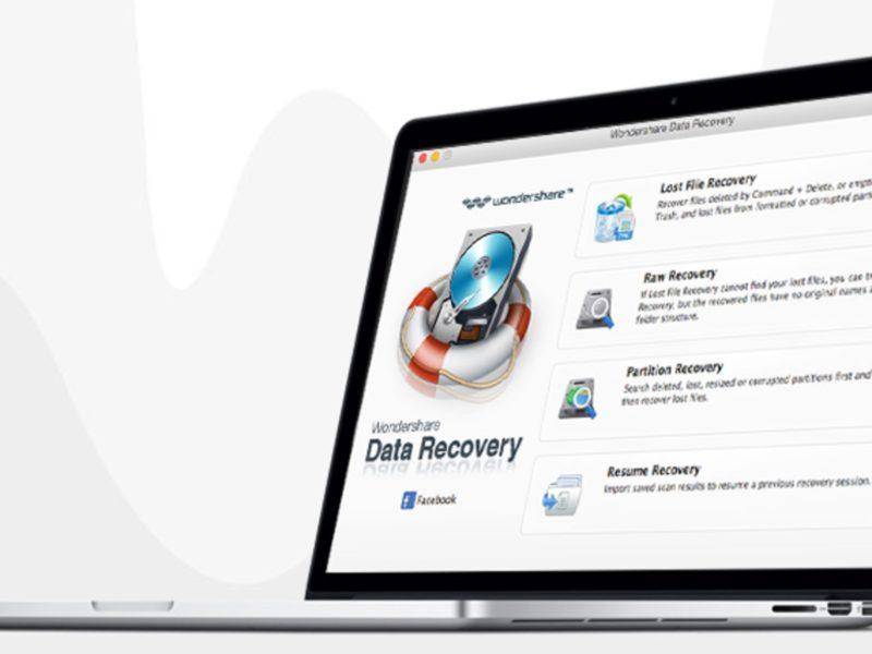 Wondershare Data Recovery per Mac