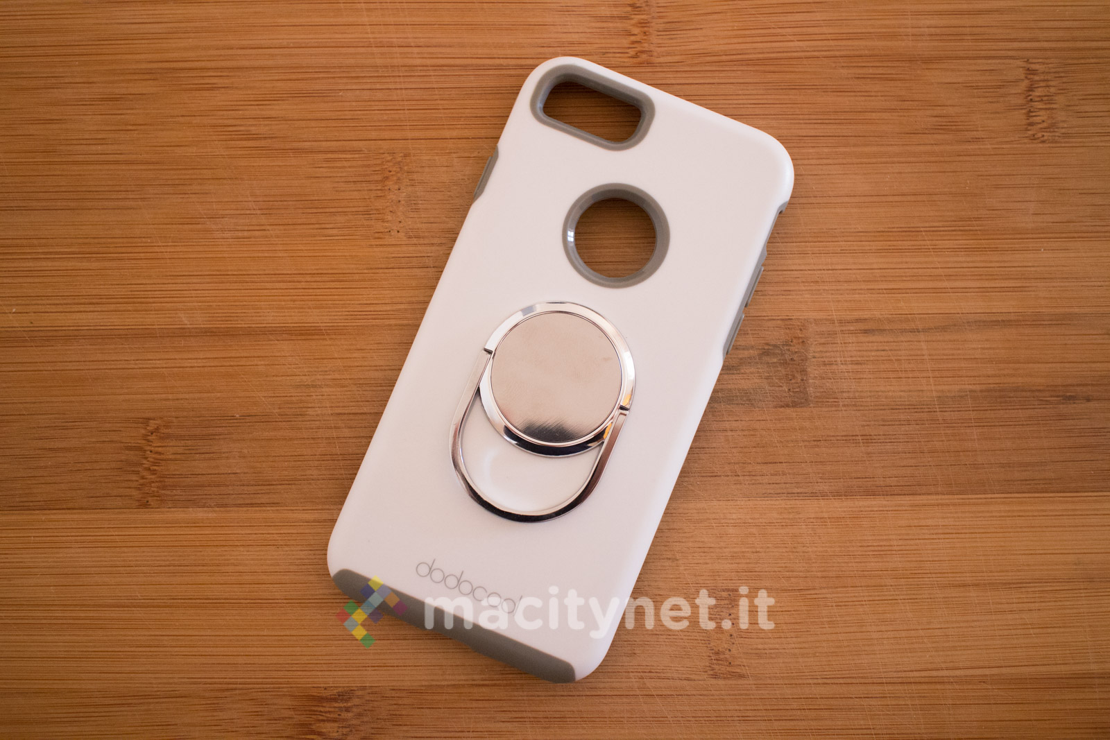 custodia iphone con anello