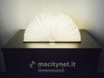 Lixada Book Lamp, la lampada LED che sembra un libro