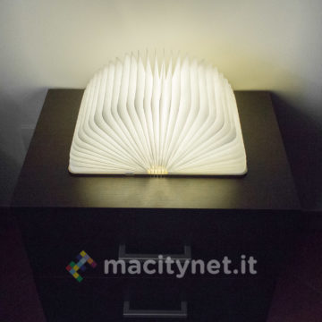 Lixada Book Lamp