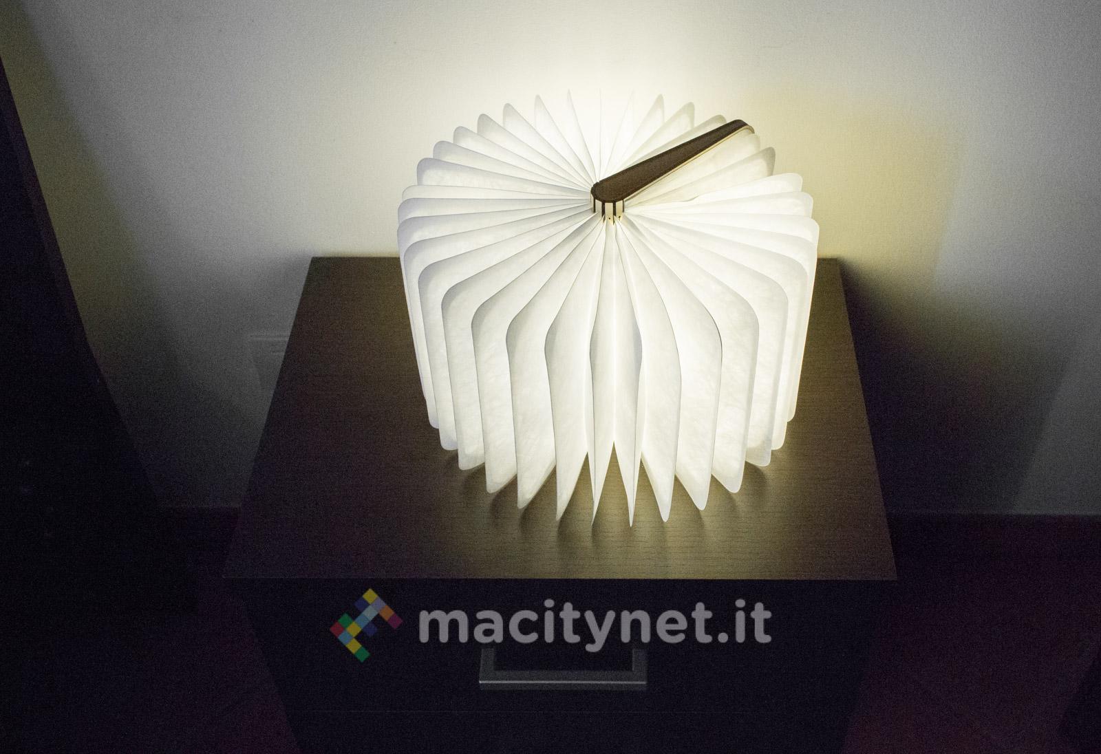 Lampada Origami Istruzioni : Lixada book lamp la lampada led che sembra un libro macitynet