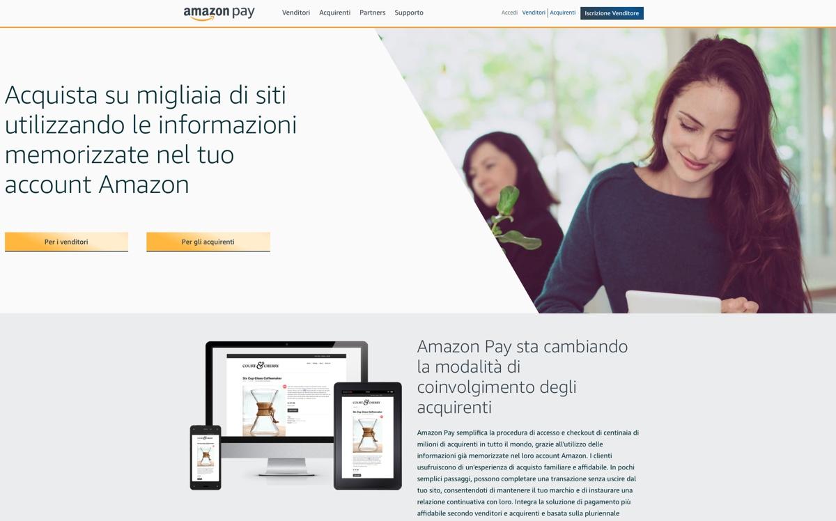 amazon pay italia