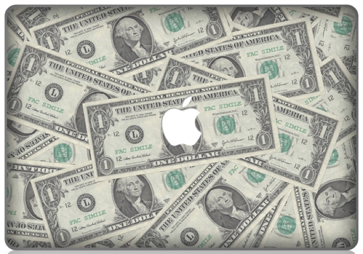 apple dollar 740