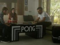 Il tavolo Atari Pong è una chicca per il salotto nerd, riunisce amici e famiglia