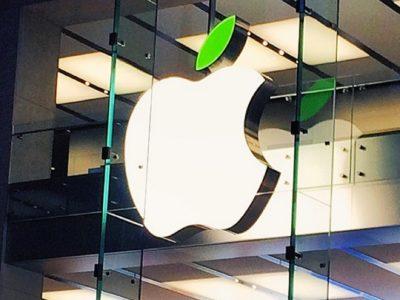 giornata della terra apple store green